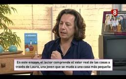 Javier Saura en La 8 León TV - La Mudanza en los medios