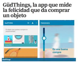 Gudthings App en La Razón - La Mudanza en los medios